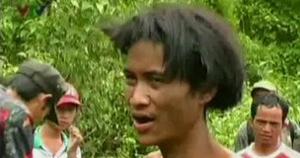 foto Hombre vivió en la selva